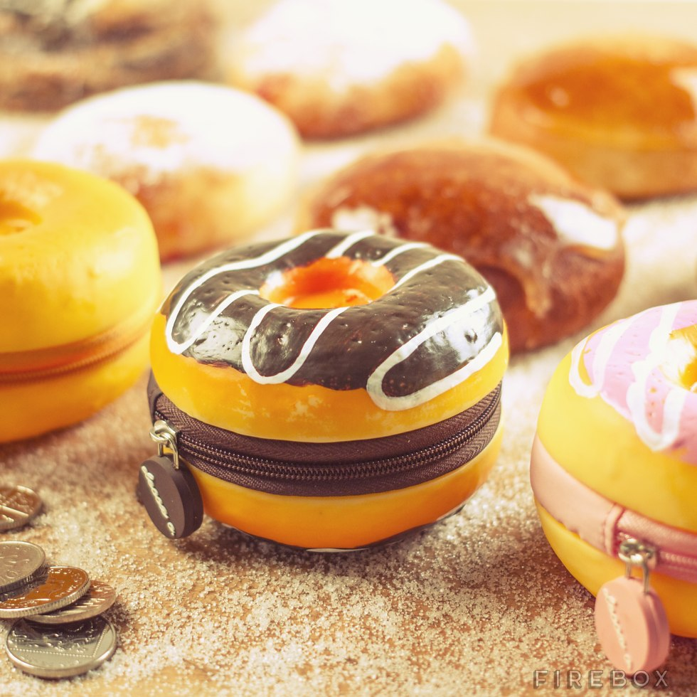 Donut Scented Coin Purses