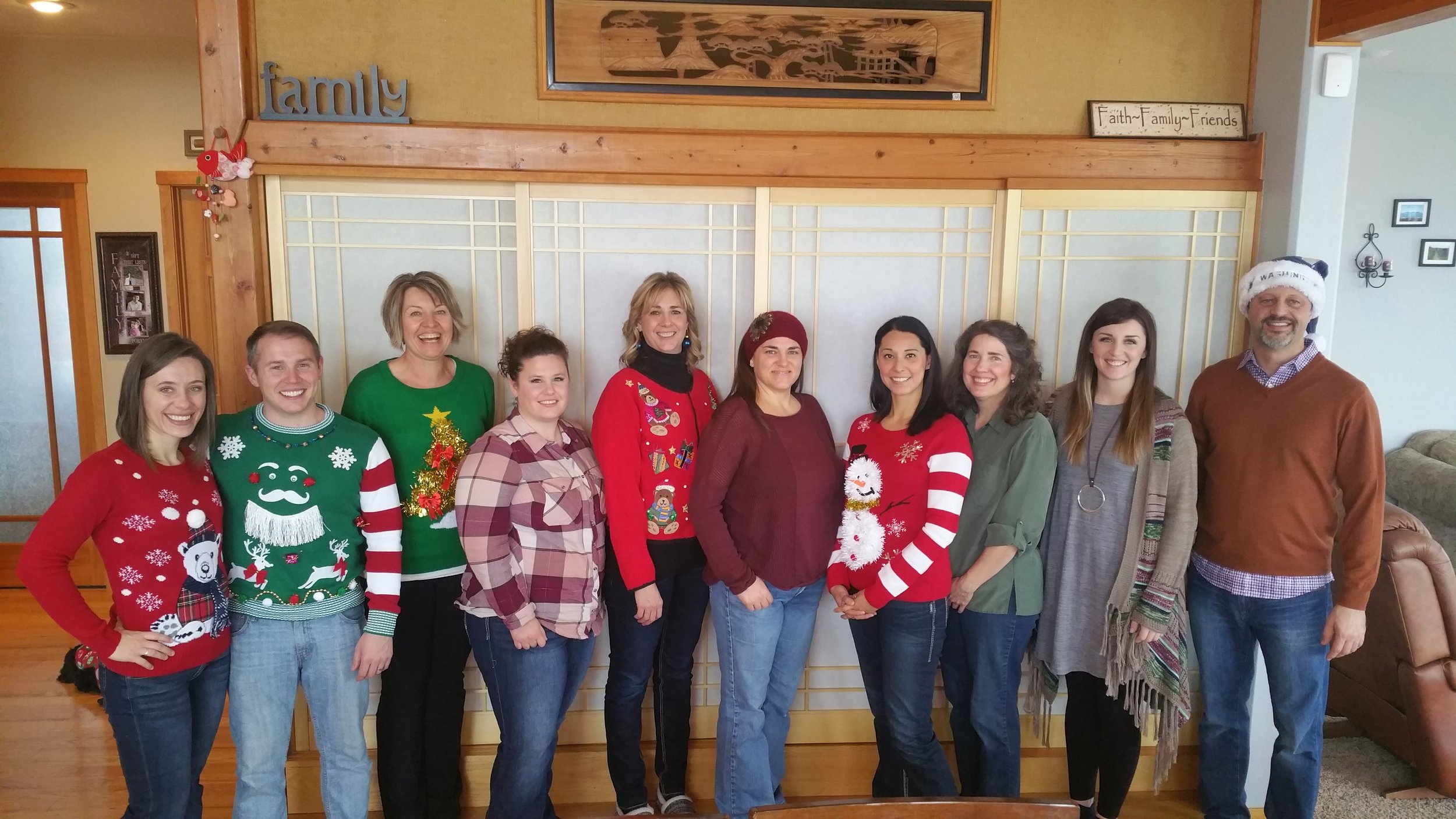 Our Ugly Sweater Christmas Brunch-2016!