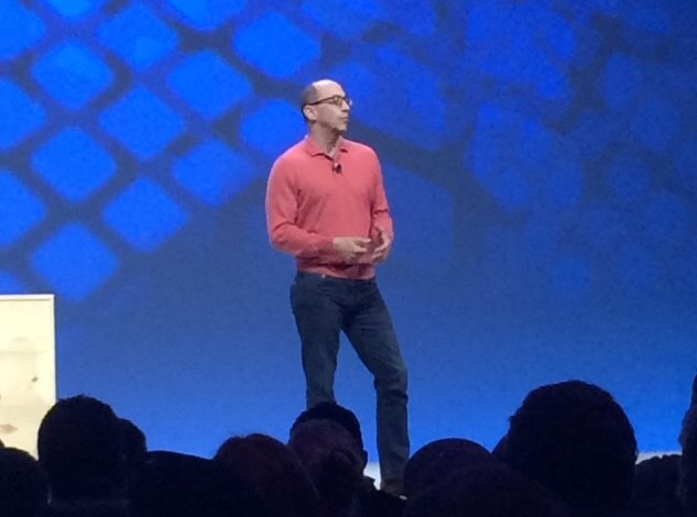 Dick Costolo kicked off the conference with a short intro. I think I was expecting more from him, but it was fine.