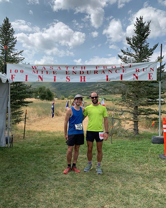 All smiles after finishing the Wasatch 100 #utahisrad #wasatch100