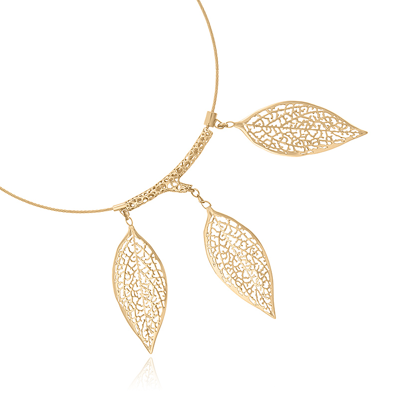 Leaves - Inspired by nature and the actual patterns of the Forsythia leaves, the collection brings to life wearable statement pieces with organic, delicate shapes perfect for any occasion.