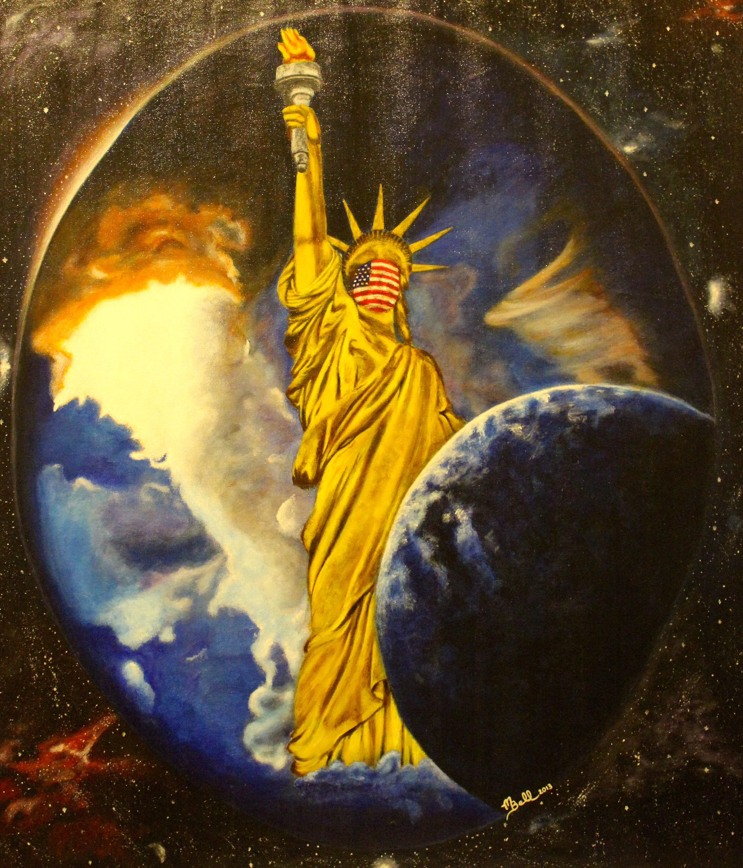 Universal Liberty by Mark Bell