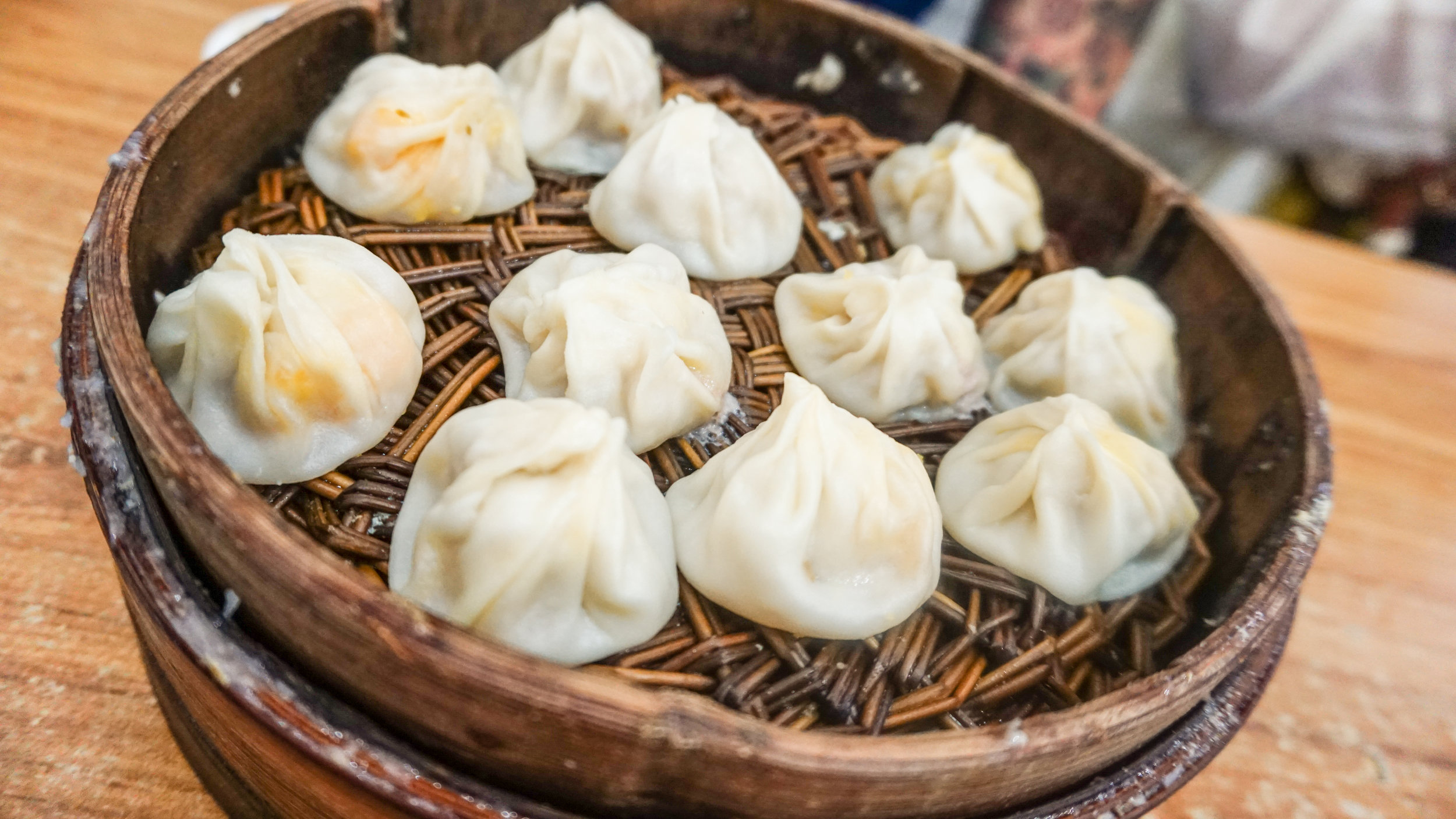 No idea what we ordered - But it was hands down the BEST, juiciest, and most flavorful Chinese Soup Dumplings I've ever had.