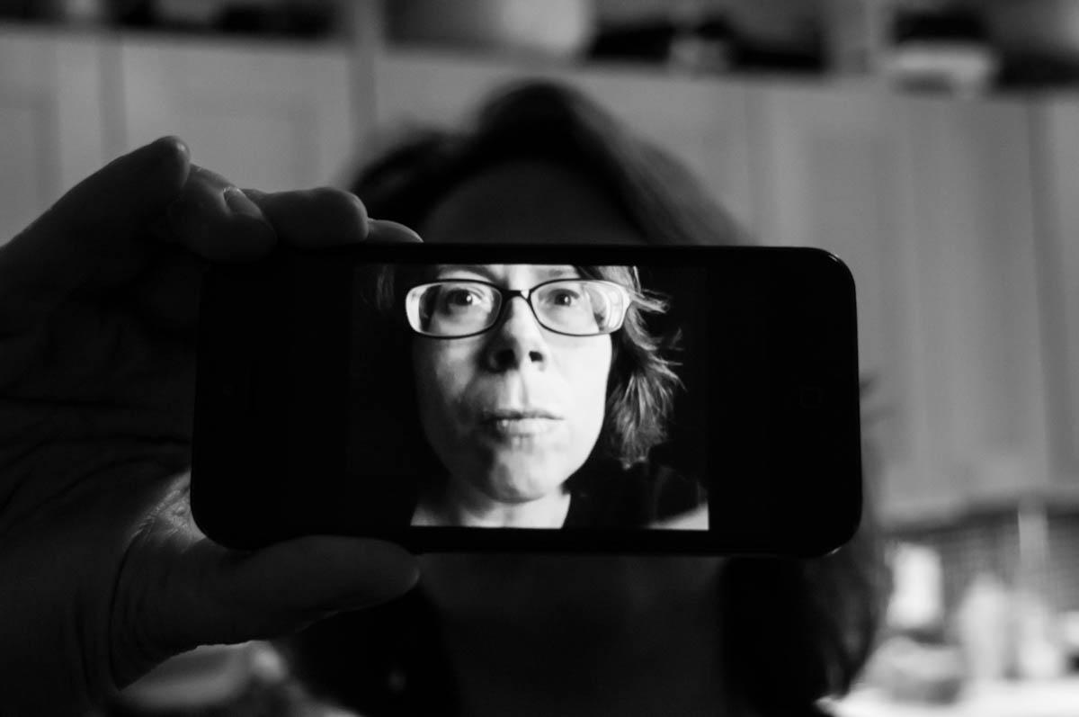 Self-portrait,  Mineola,New York, 2014.