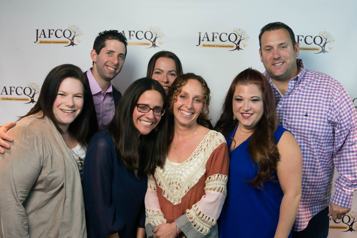 The organizers of the JAFCO fundraising event