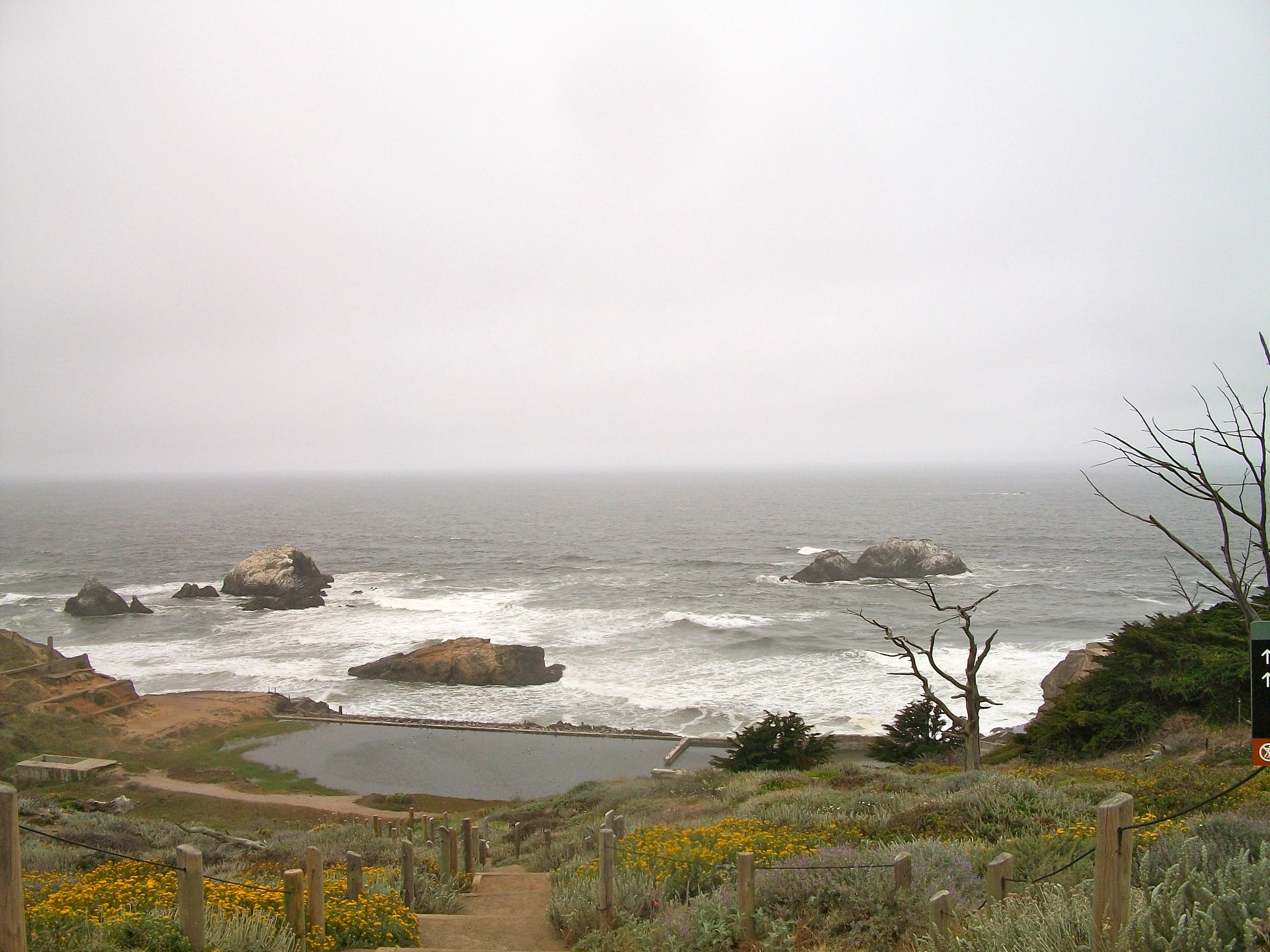 Sutro Baths, Lands End, San Francisco.