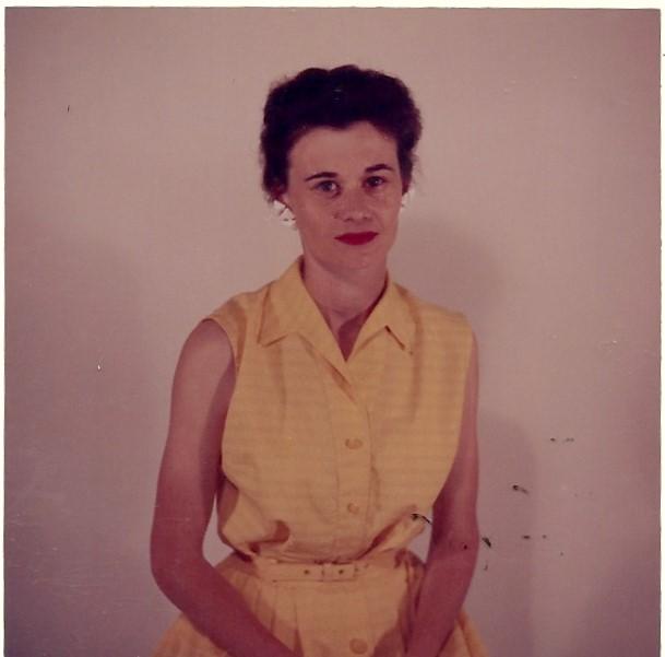 Grandma waaaay before she was a grandma.