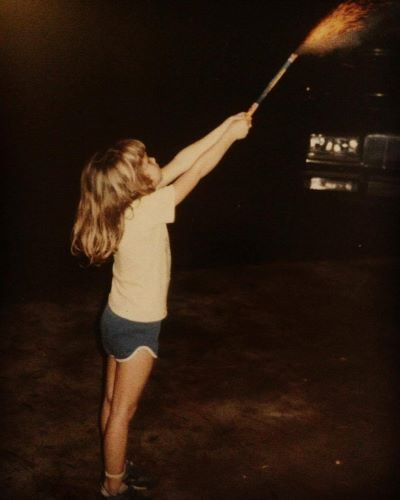 Yeah, that's me and a Roman Candle. And I'd do it again.