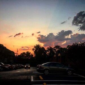 September sunsets.