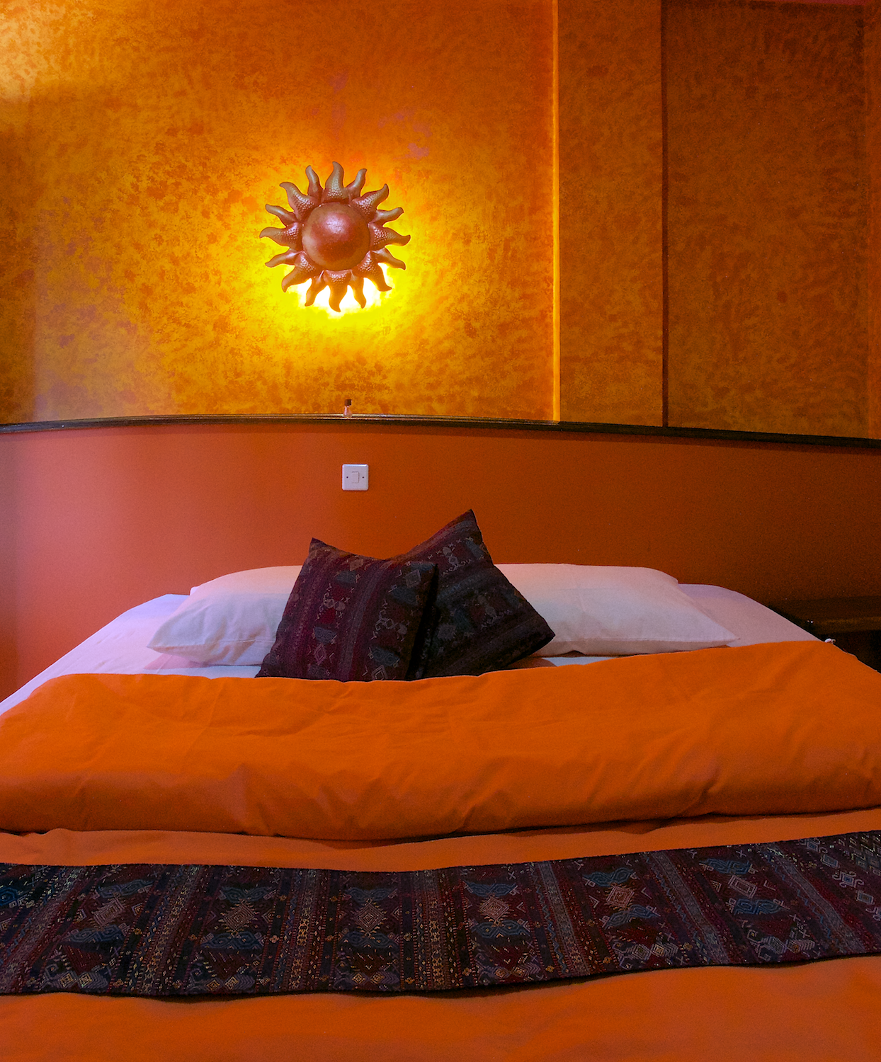 Hotel La Hasienda, Kupang, NTT, Indonesia. Our rooms have comfortable beds in a beautiful, Mexican inspired setting.  Photo © Basil Rolandsen (http://media.bouvet.org)