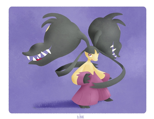 Mega Mawile Commission 2