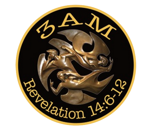 3 Angels Messengers Motorcycle Association logo.