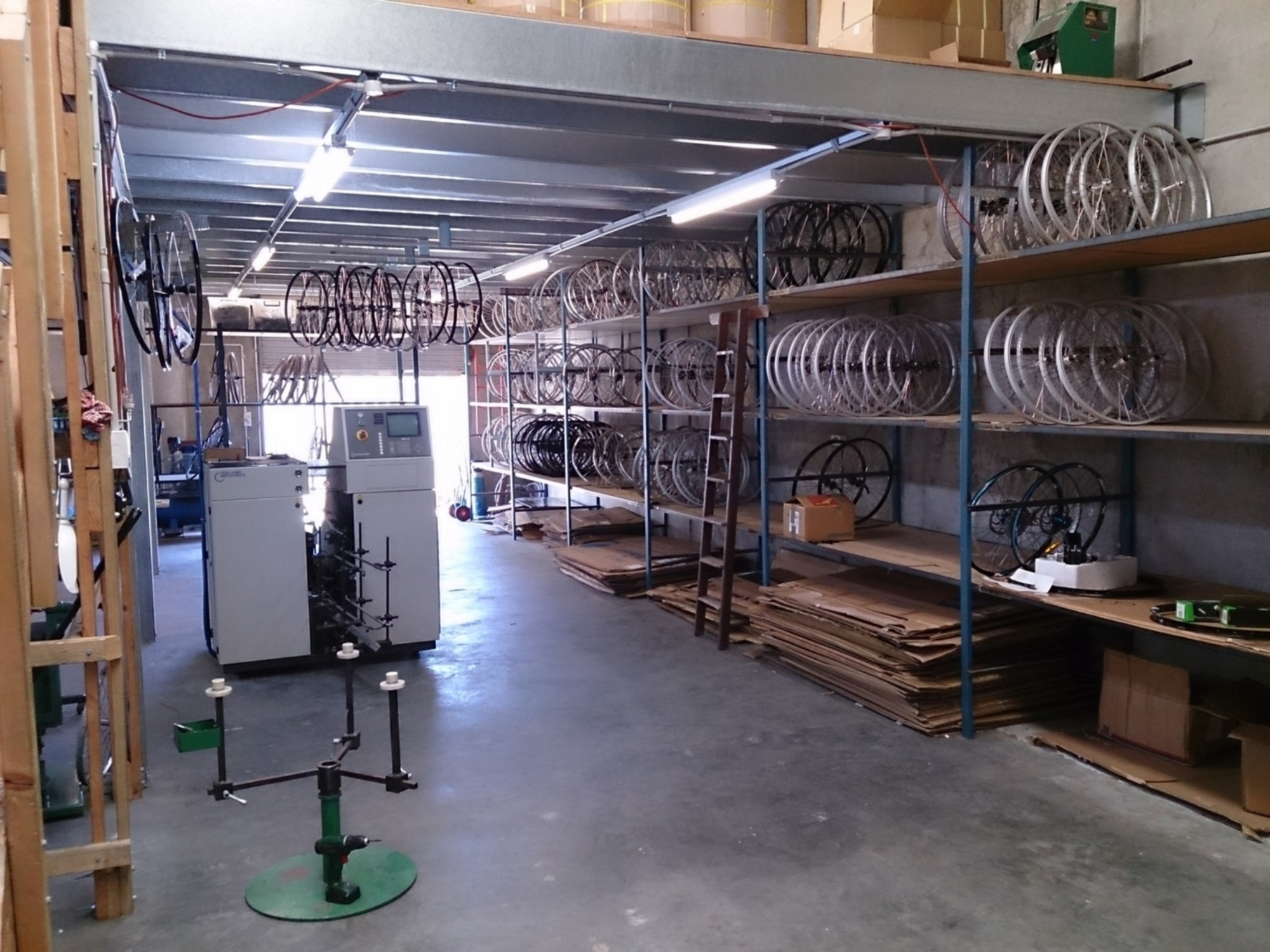 Wheels Direct's Manufacturing Warehouse Facility