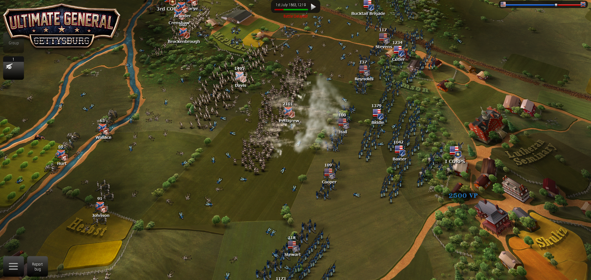 Artillery officers will now handle much better their targeting without your manual input.