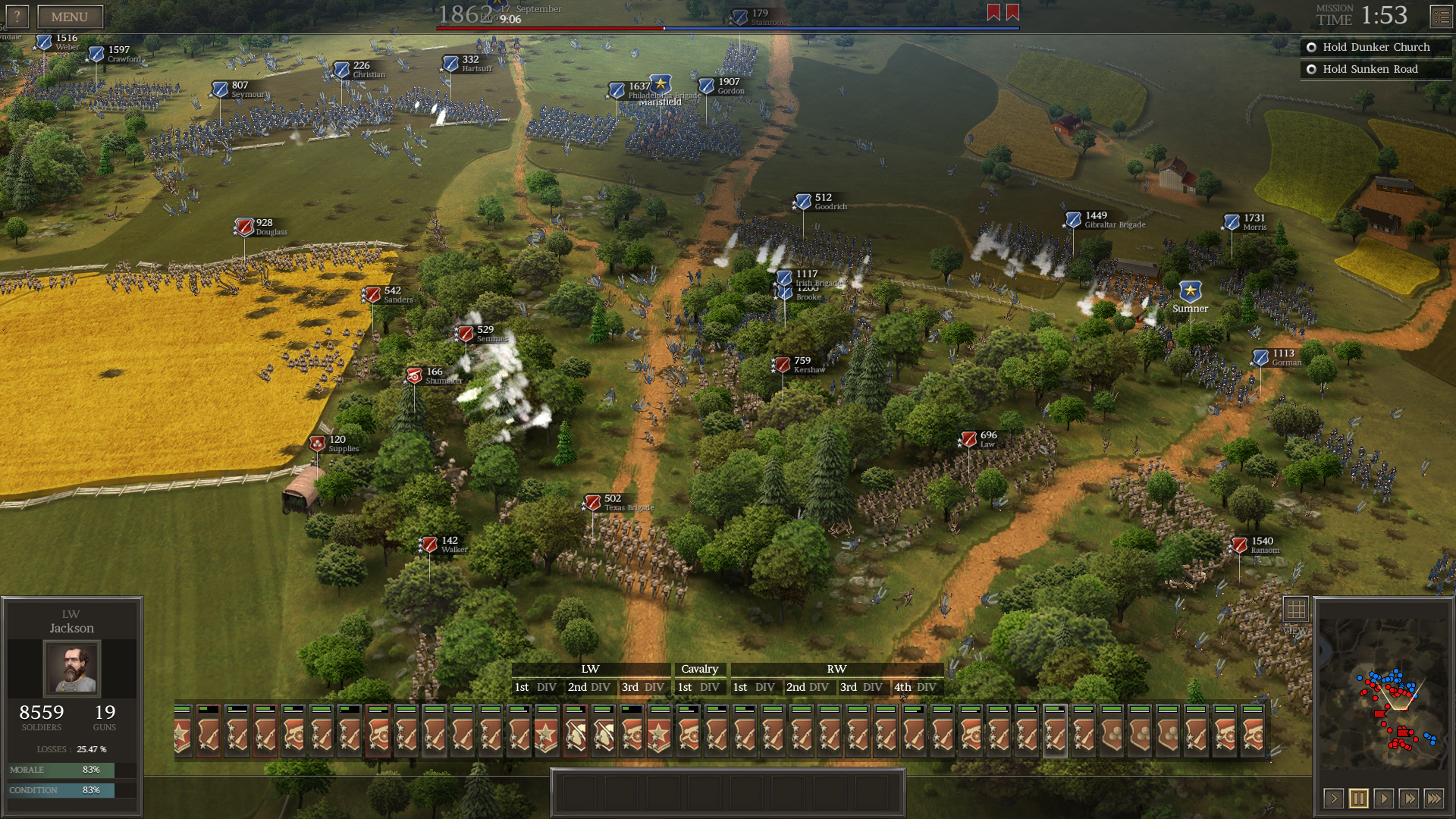 The AI will expand its forces to surround and flank player much more frequently than before.