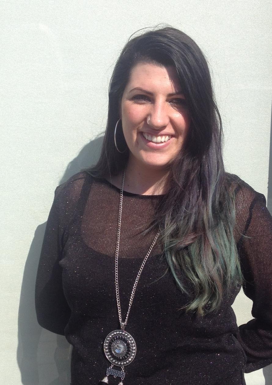 Azaria: manager of the Radlett salon
