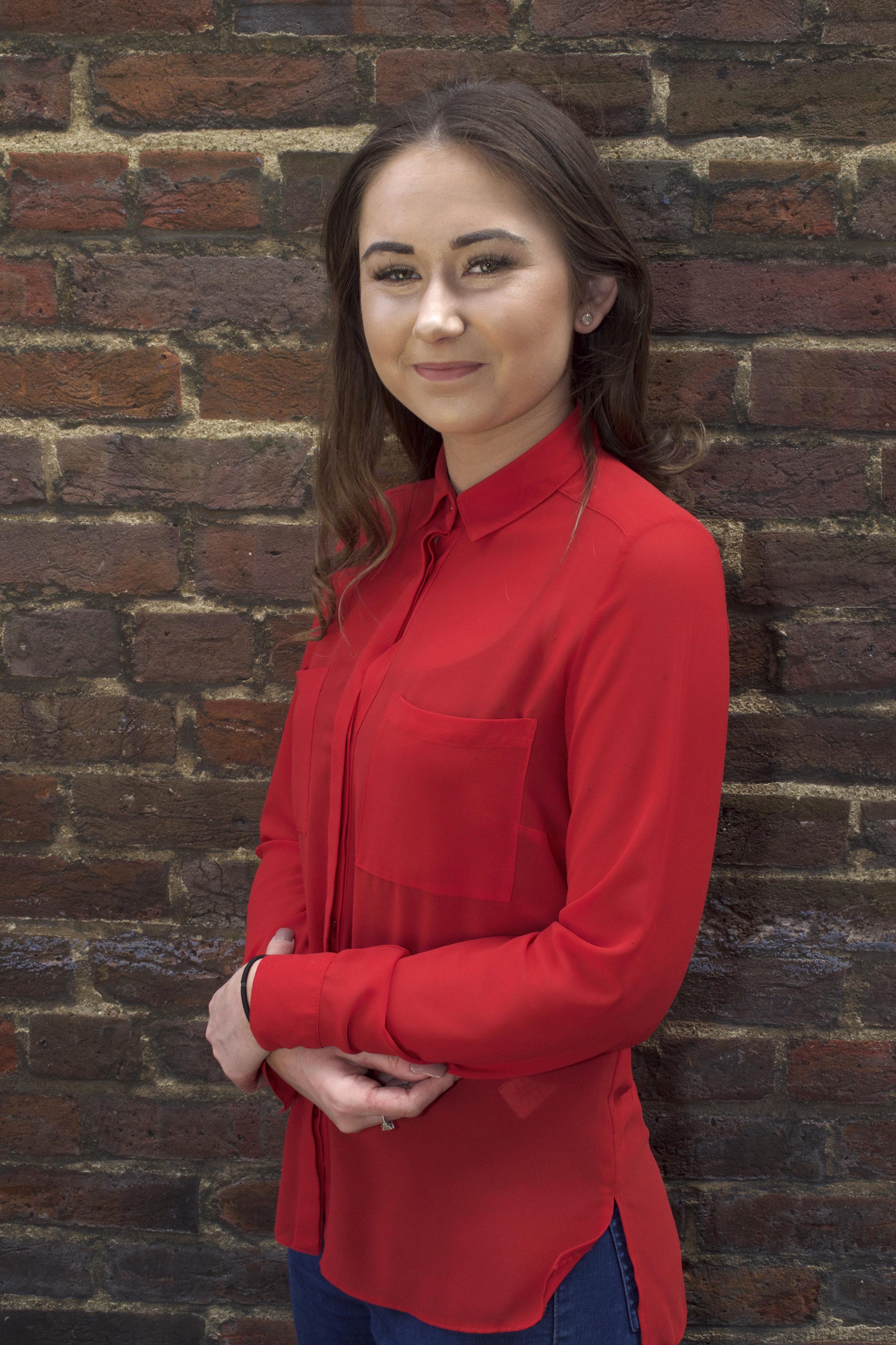 Leah, apprentice, Harpenden salon