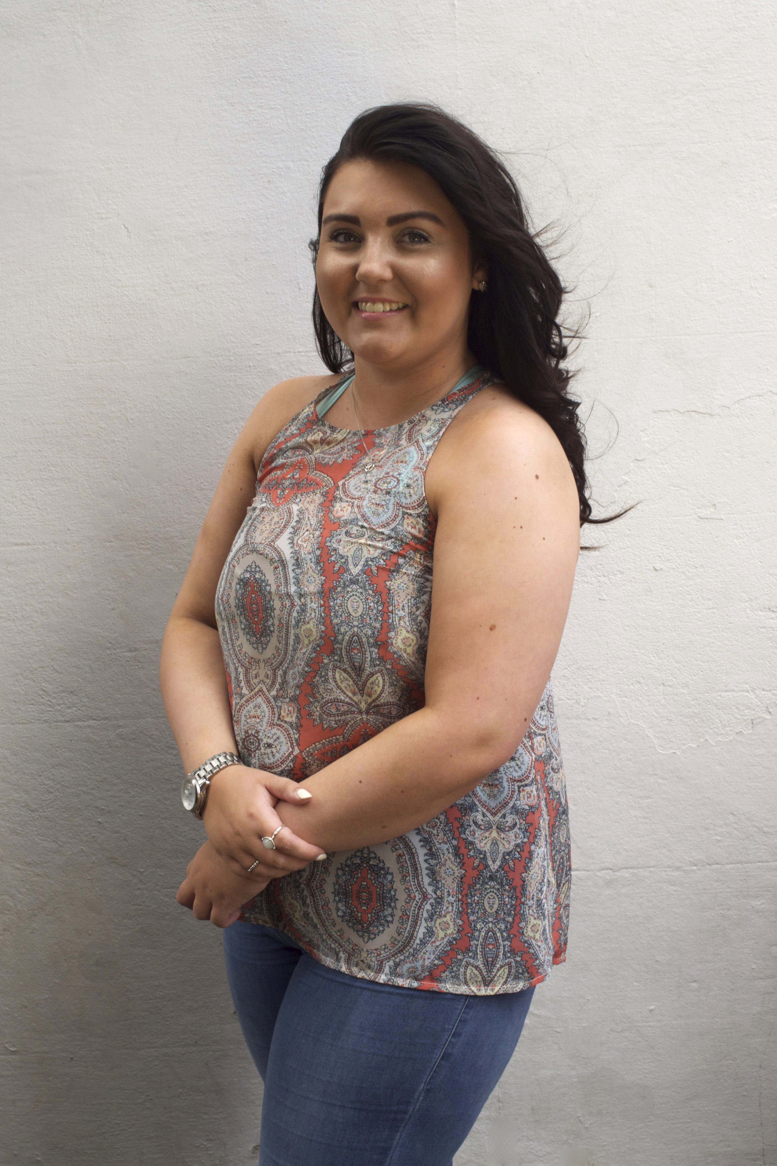Charlotte, salon stylist, Harpenden