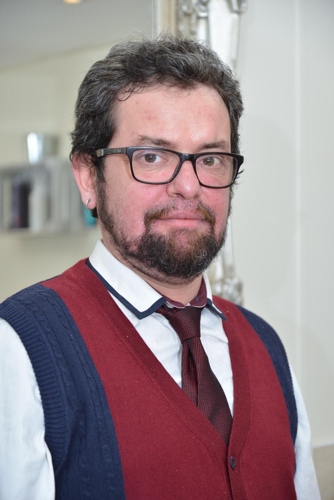James, Artistic Director, Radlett salon