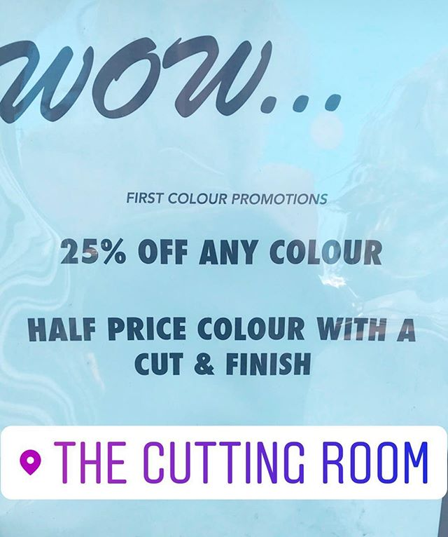 Come down to the radlett salon and enjoy this special offer, we still have a few available appointments for today and tomorrow #offer #special #hair #hairdressing #wella #davines #colour #cut #blowdry
