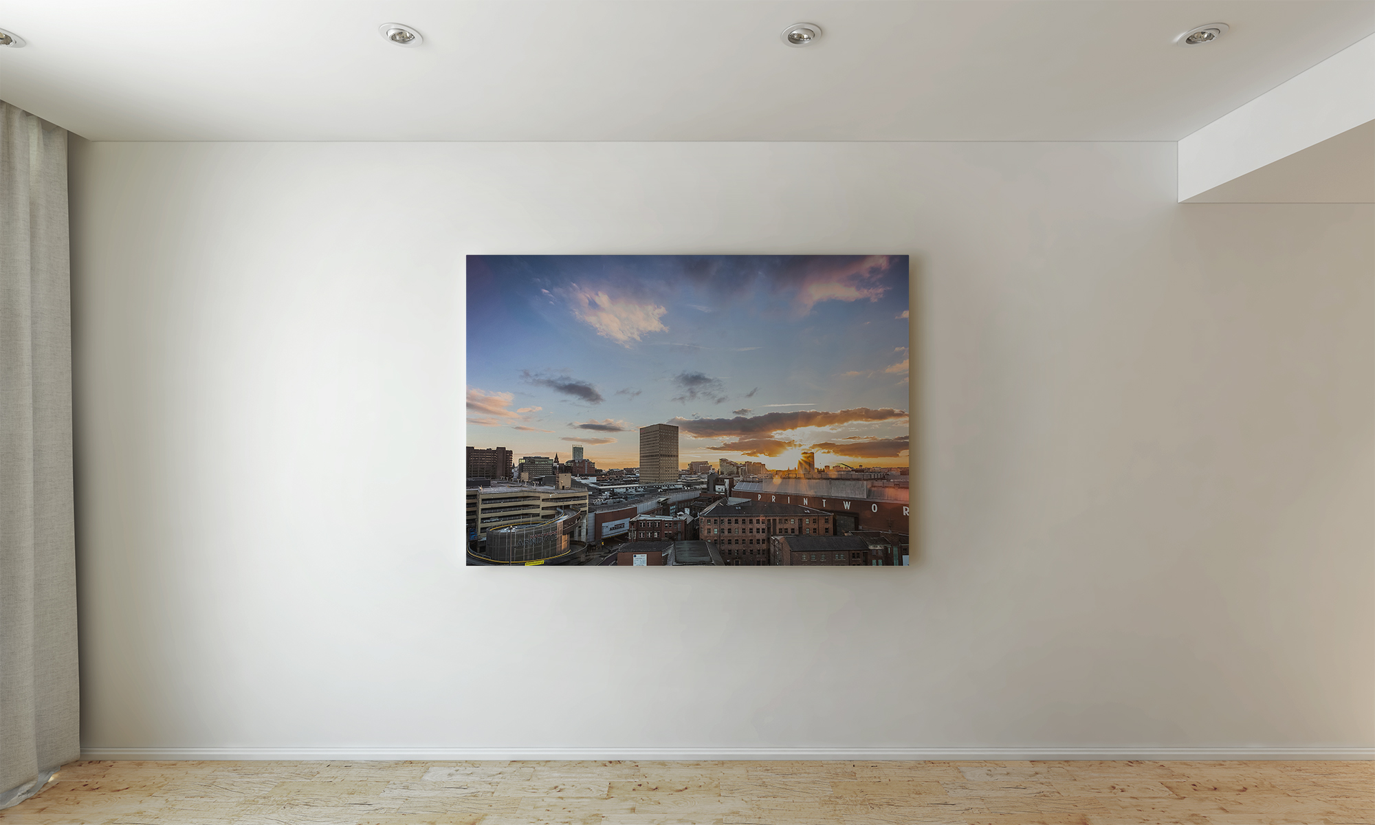 My fine art landscape canvas can make a great wall art feature for your home or office.