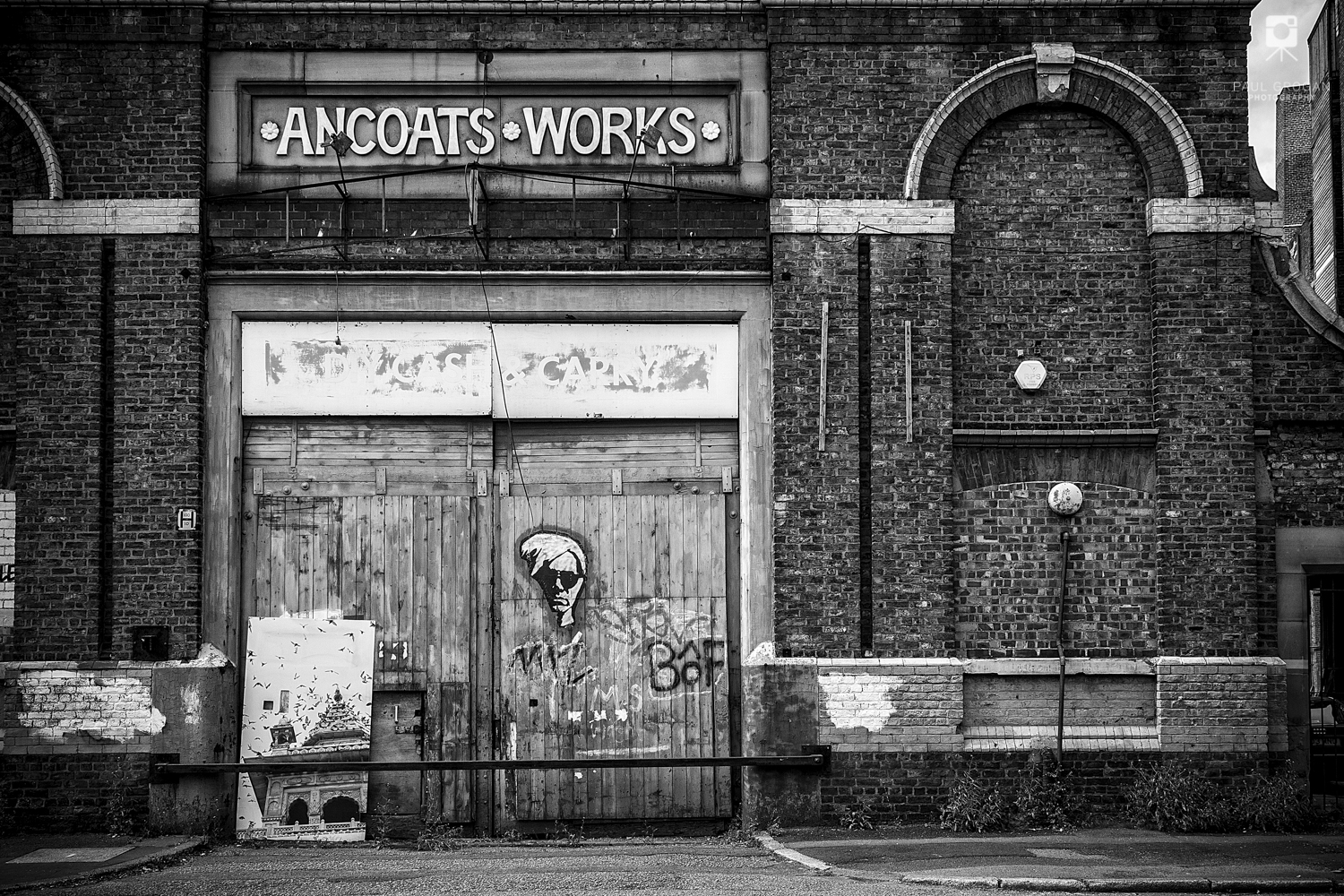 Ancoats Works and Manchester Landscape print