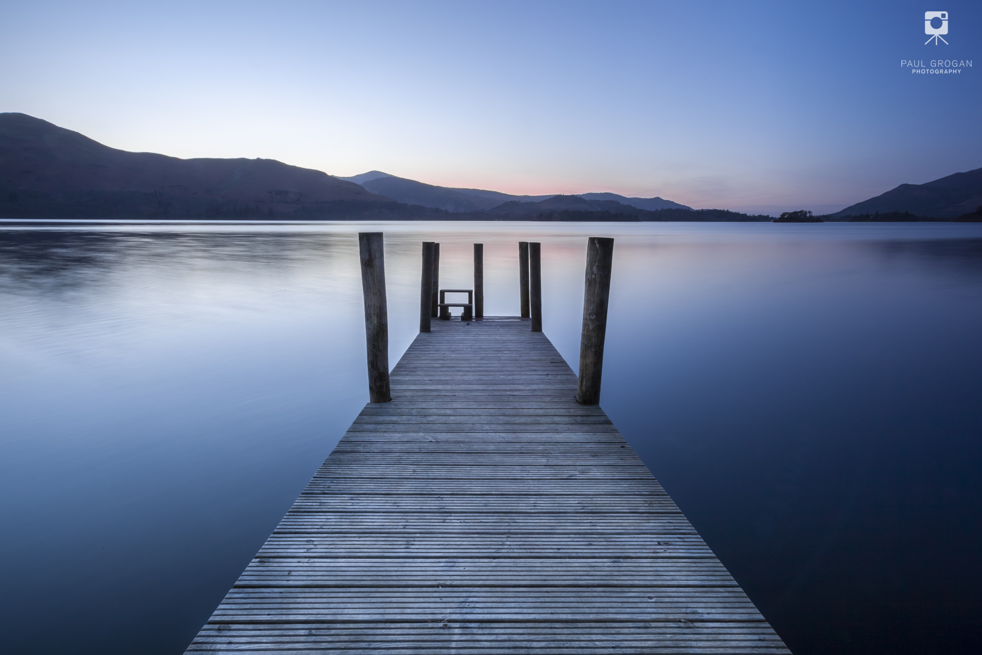 Ashness Jetty on Derwentwater in the Lake District