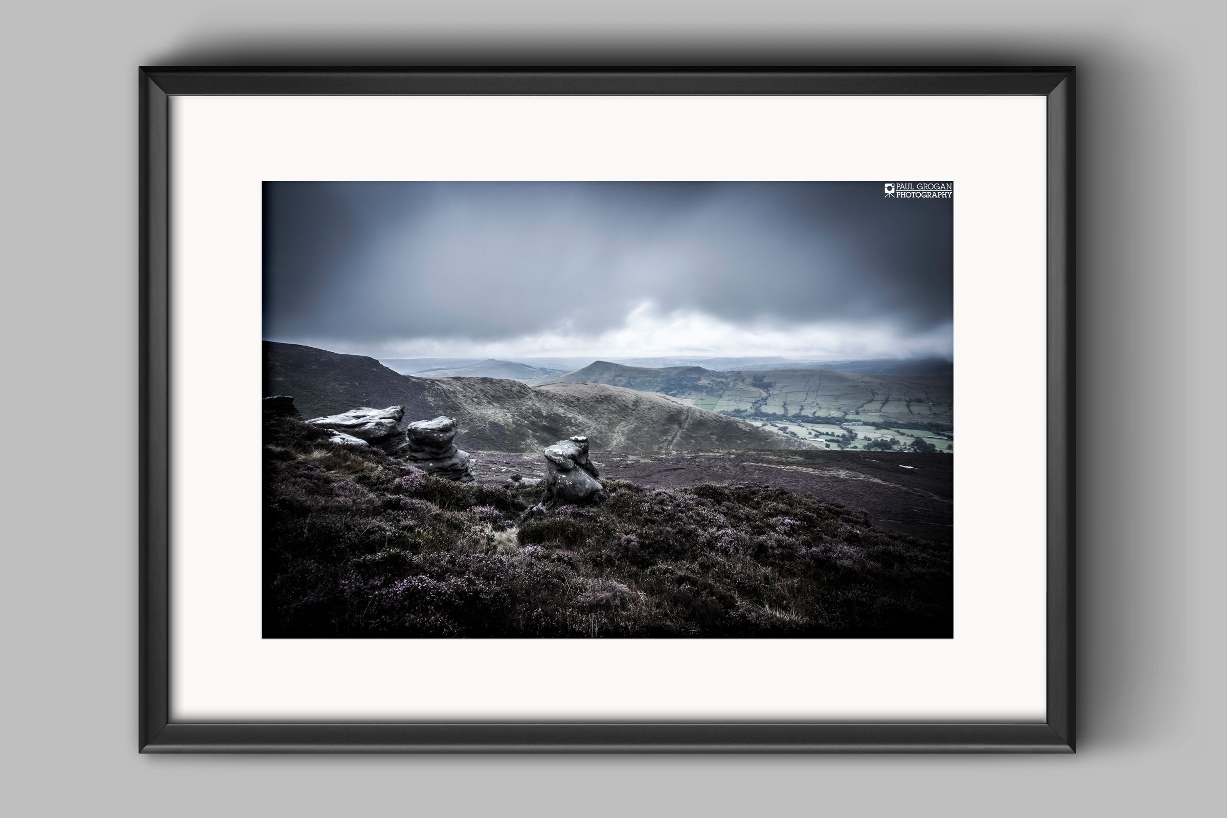 How your landscape photos might look when framed