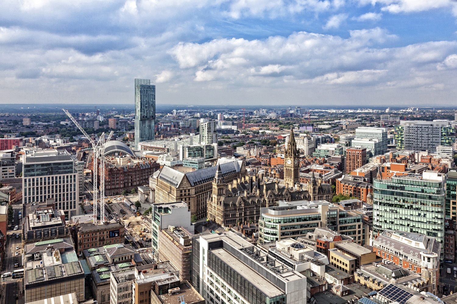 Panoramic landscapes | Manchester, The Lake District and the Peak District
