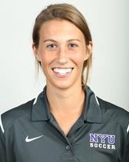 Taylor Booth, NYU summer soccer camp coach