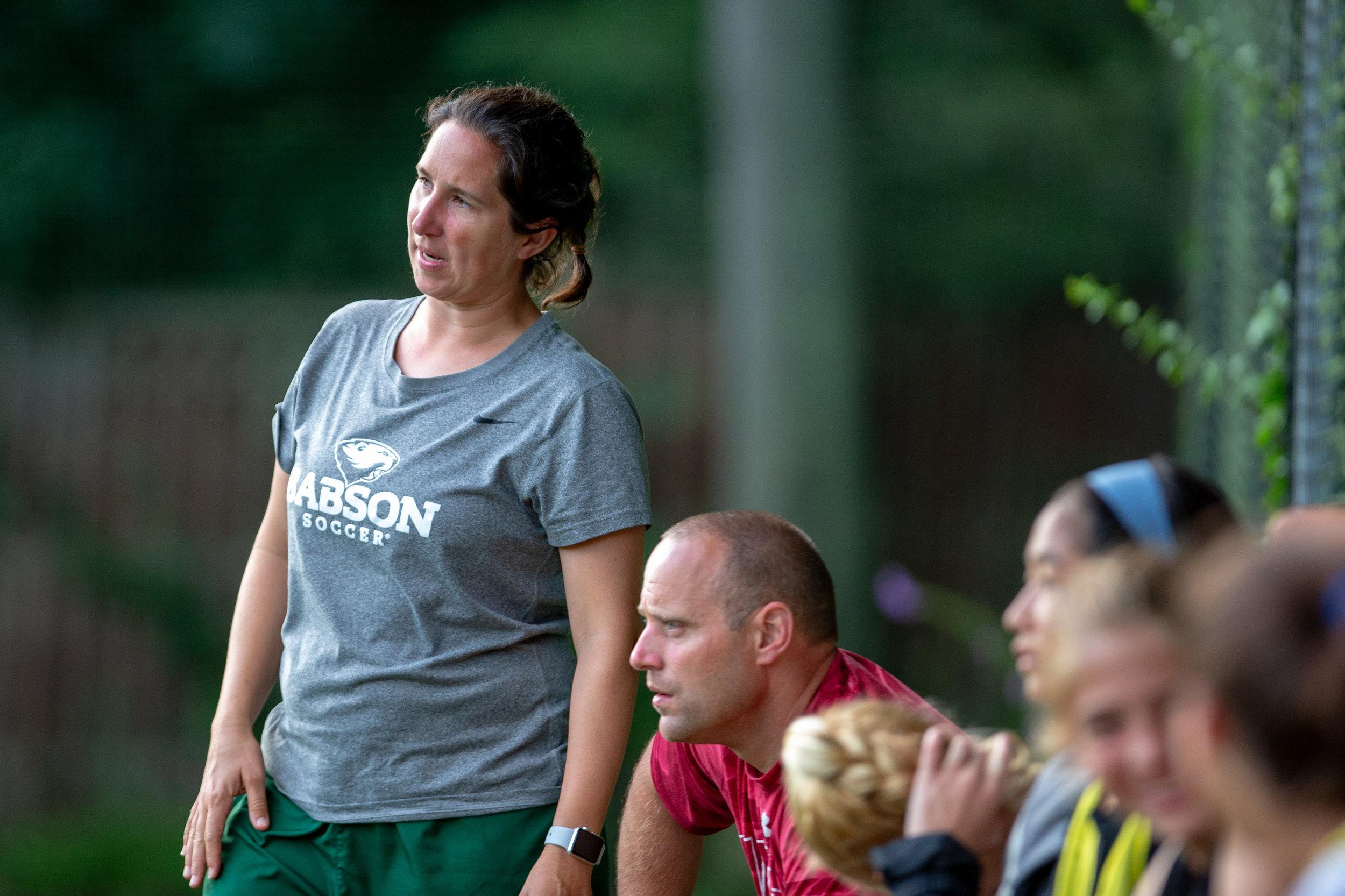 Babson MIT girls soccer camp college Massachusetts