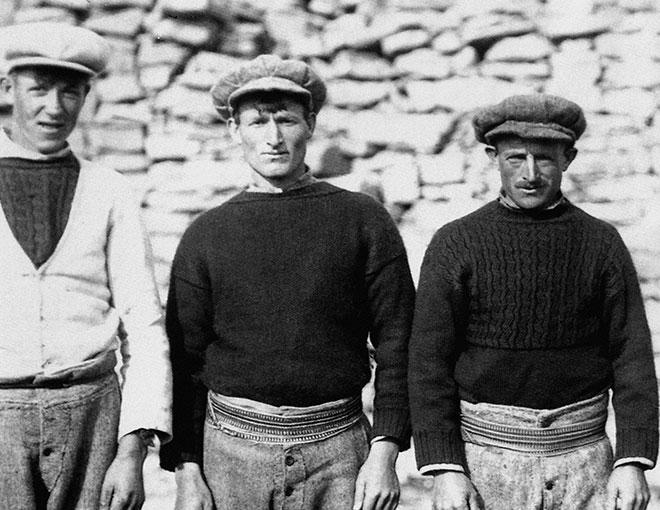 Vintage Aran Island sweater  photo Inis Meáin Knitting Company,    inismeain.ie
