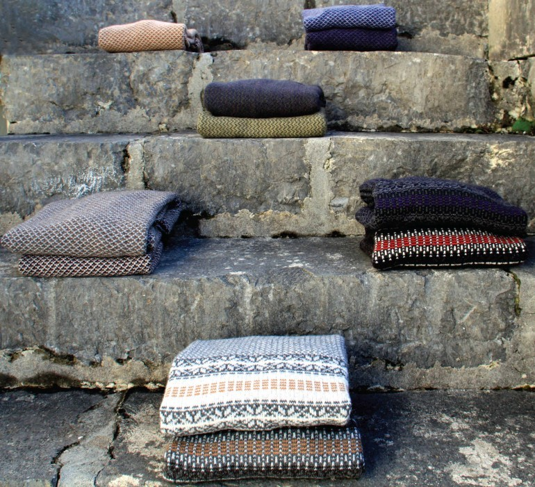 Sweater selection on offer at  Inis Meáin Knitting Company,    inismeain.ie