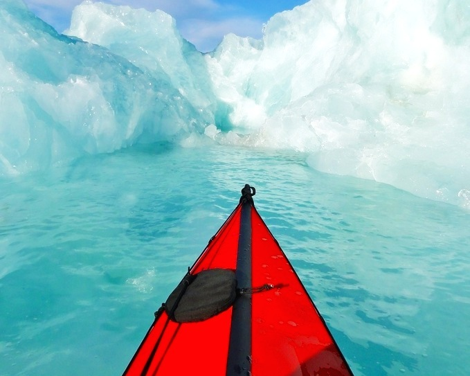 ICE KAYAKING -