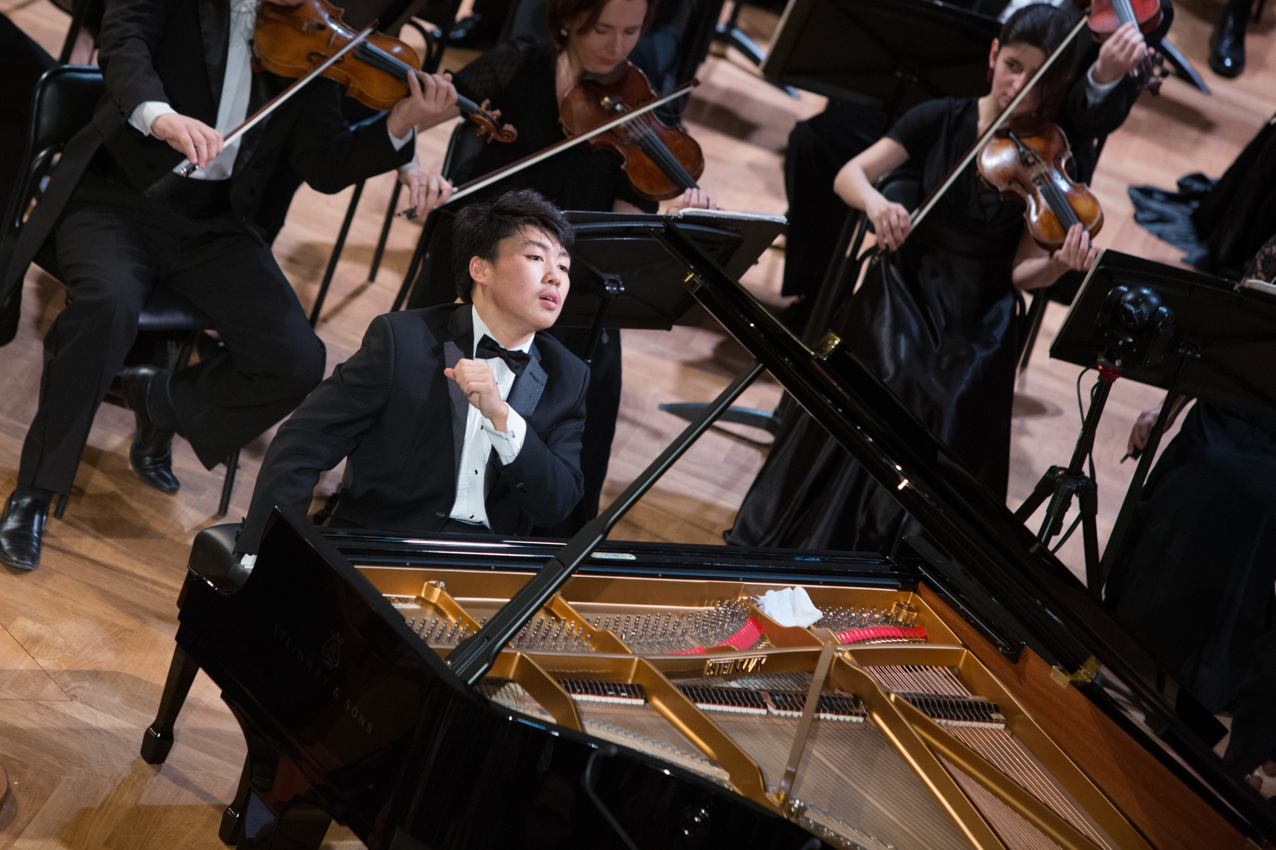 Photo from the  Tchaikovsky Competition website