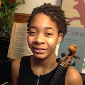 Njioma Grevious, violin and viola