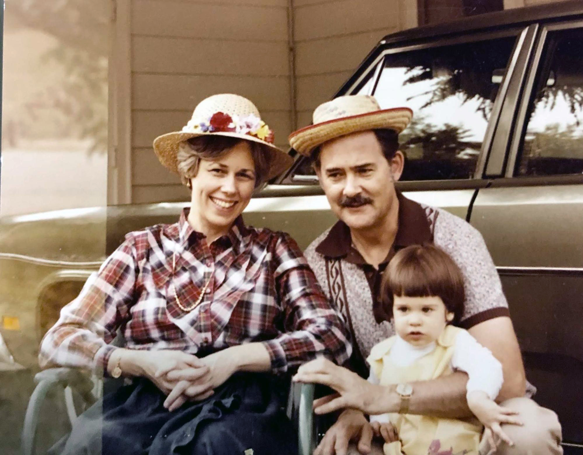 Mom, Pop, and me