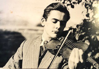 Pop and his pawn shop violin