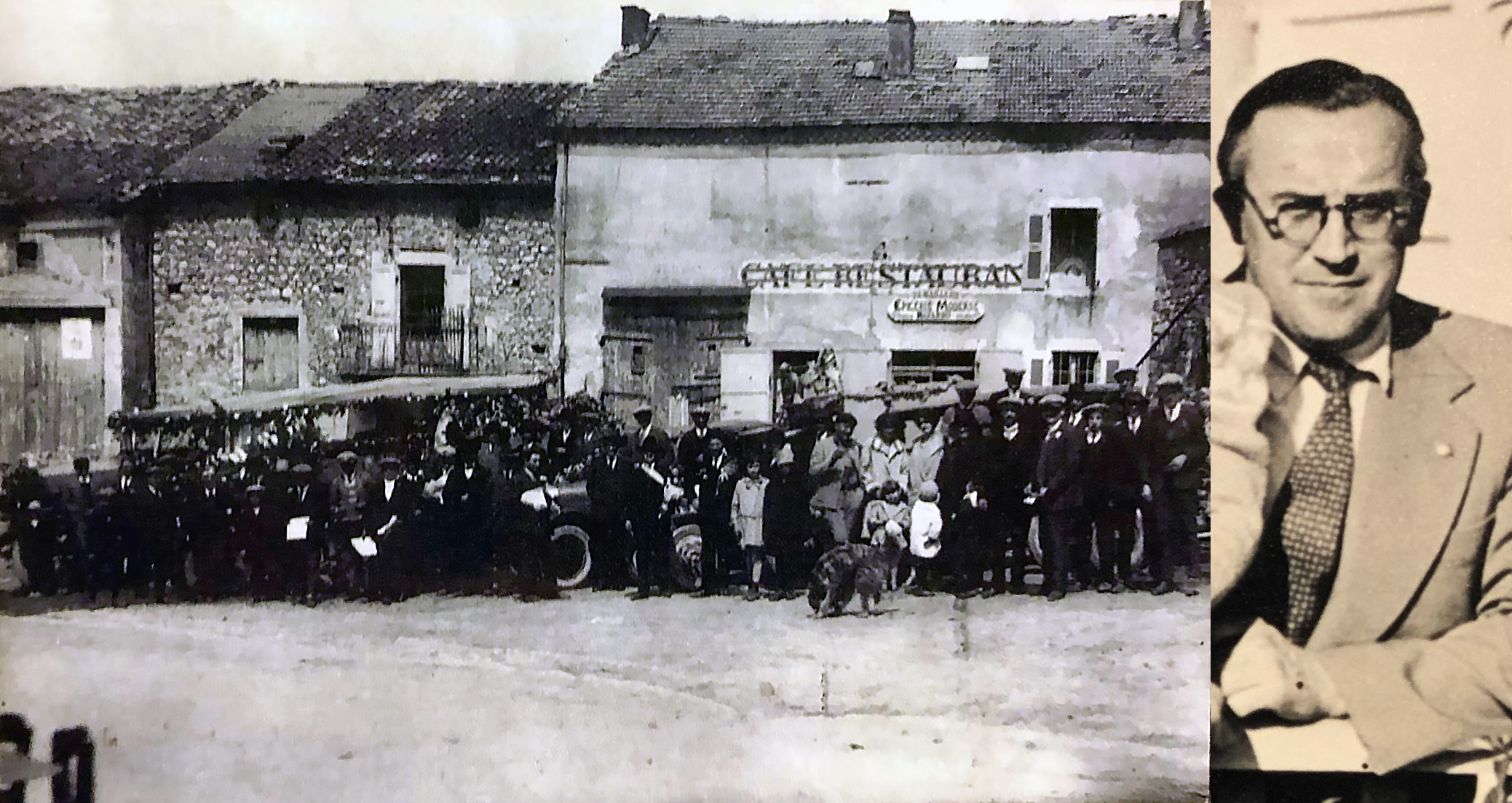 Refugees in France, before going to Chile, and my grandfather, Gabriel