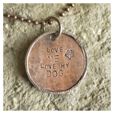 Love Me, Love My Dog Necklace