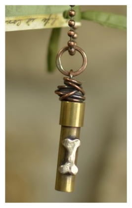 Handcrafted Brass and Copper Memory Cylinder