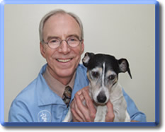 Dr. Steve Raabe, DVM of  Prairie Animal Hospital  in North Prairie, Wisconsin.