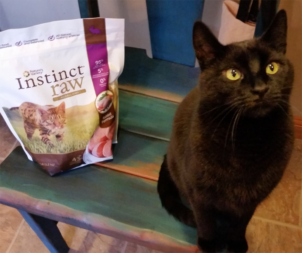Mr. Booey loves his Nature's Variety RAW food! Get this brand and many more high quality formulas at End of the Leash!