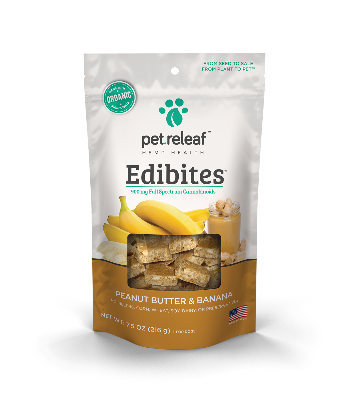 Pet Releaf Edibites & Oils