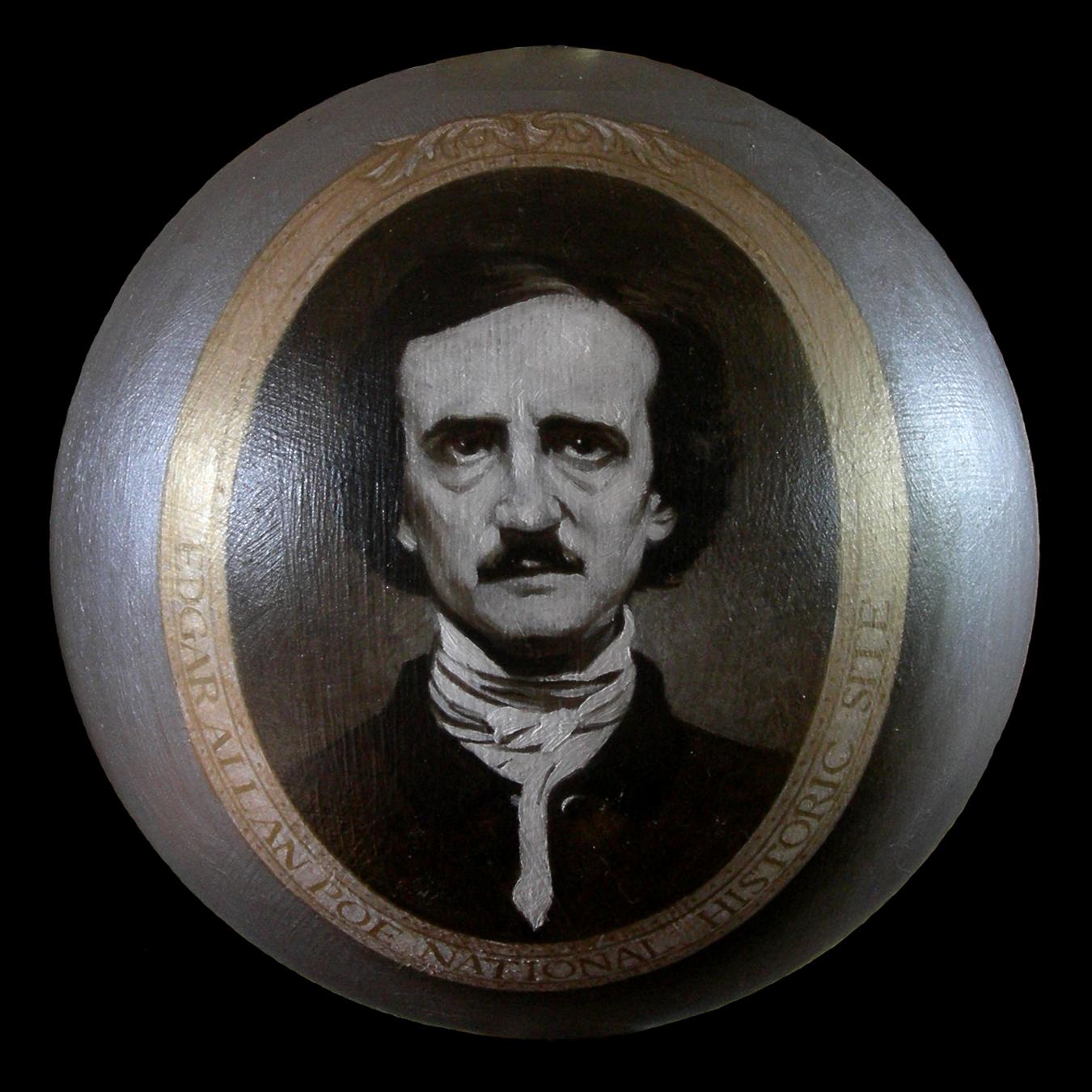 """Edgar Allen Poe Ornament"""