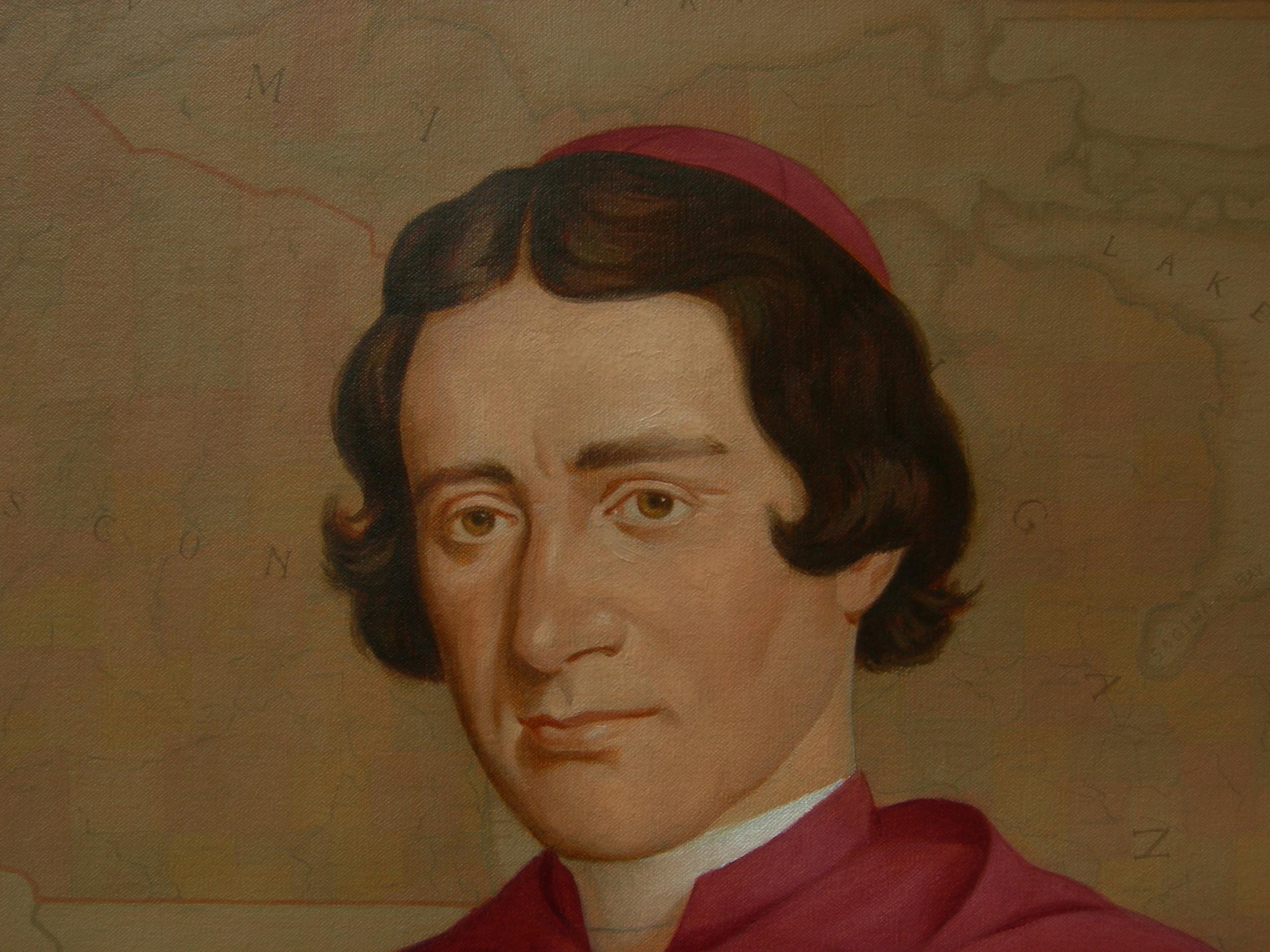 """""""Venerable Bishop Frederic Irenaeus Baraga"""" detail"""