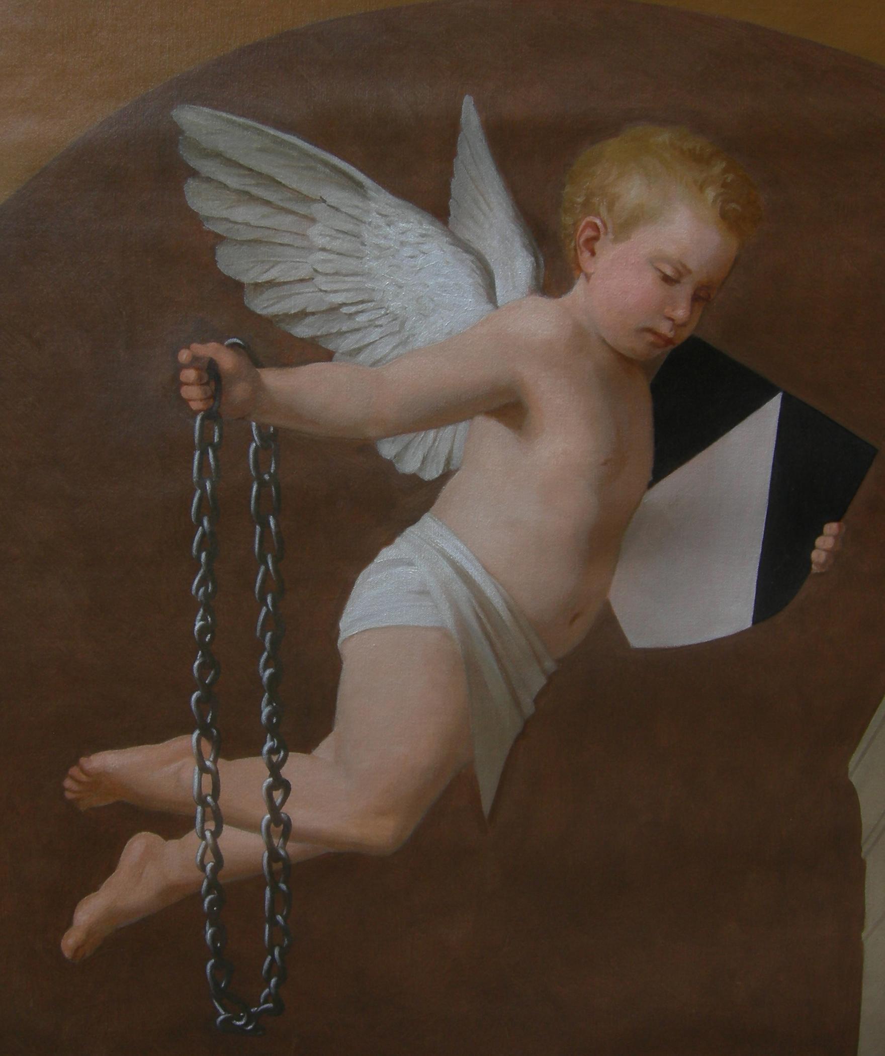 """Father Samuel Charles Mazzuchelli, O.P."" detail"