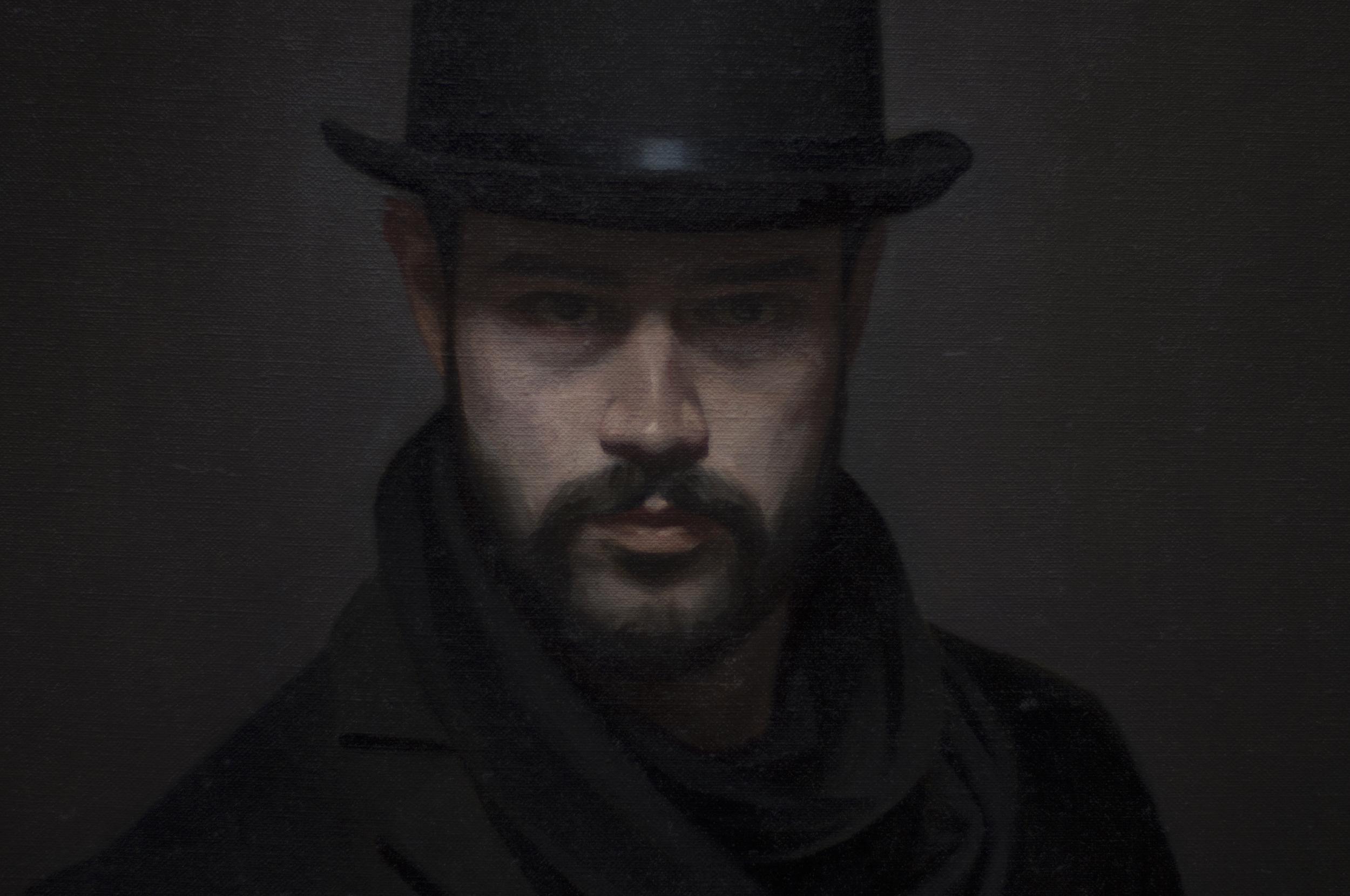 """Self Portrait as Jack"" (detail)"