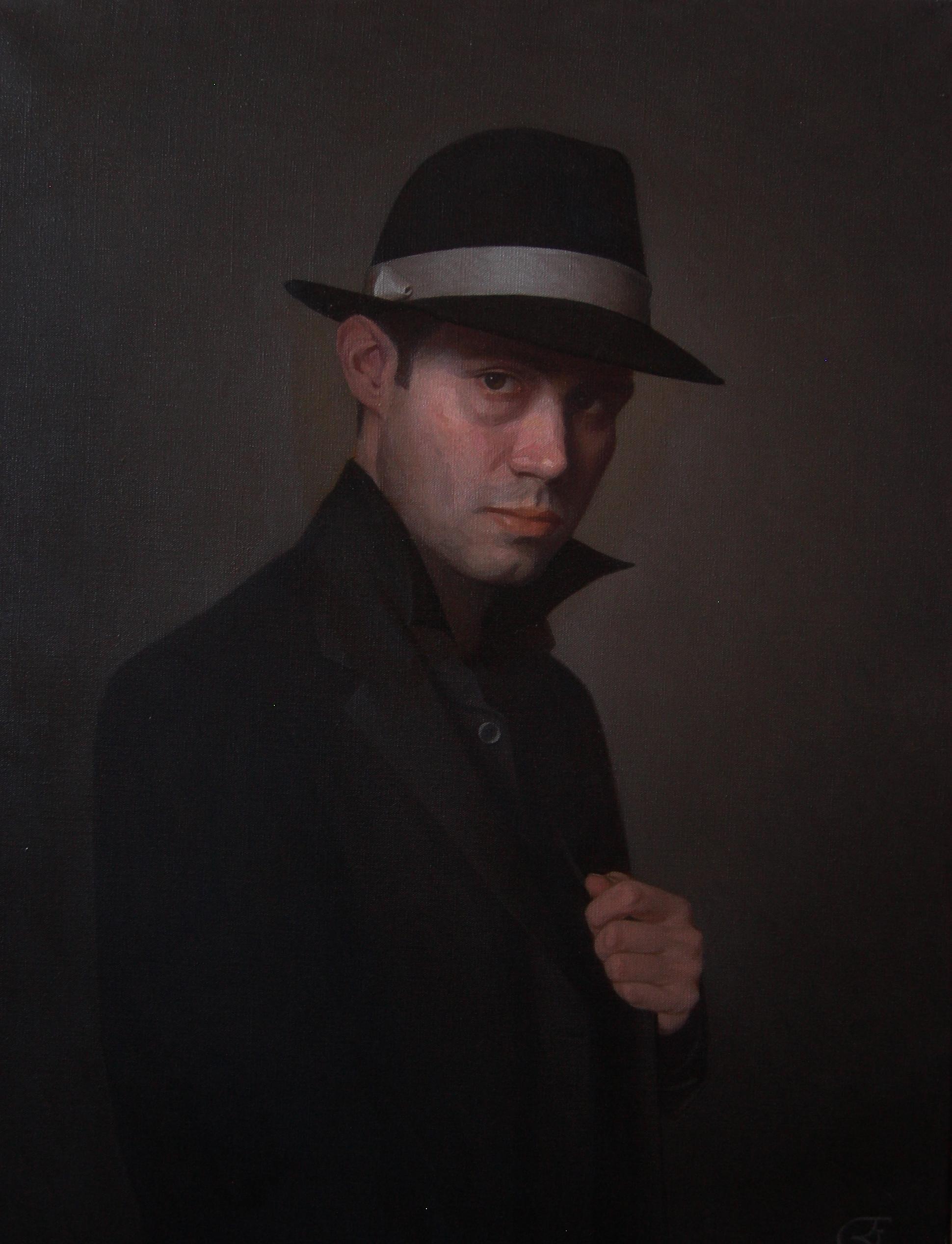 """""""Self Portrait 2010"""" detail"""
