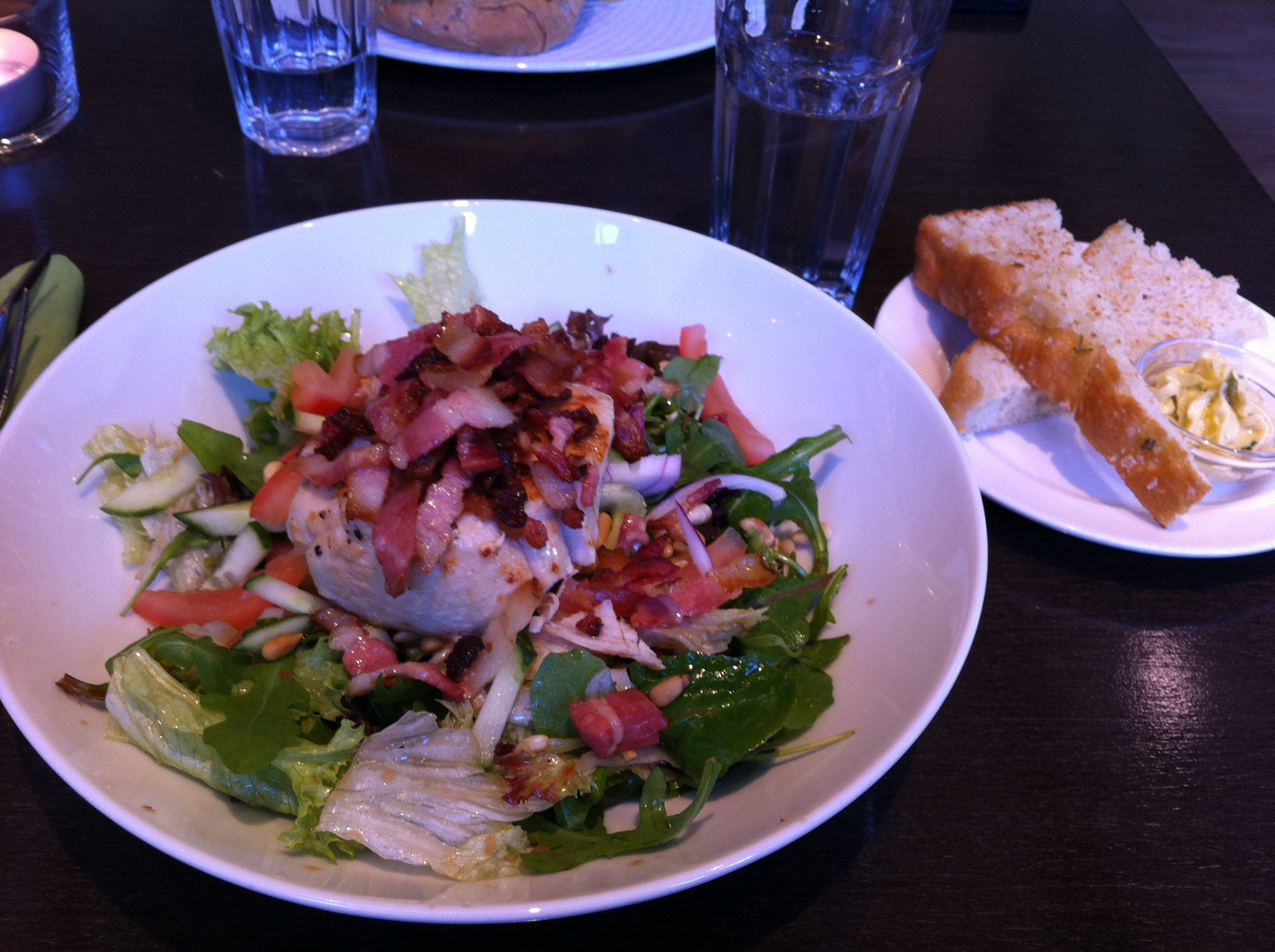 Mer salat - yammi igjen!